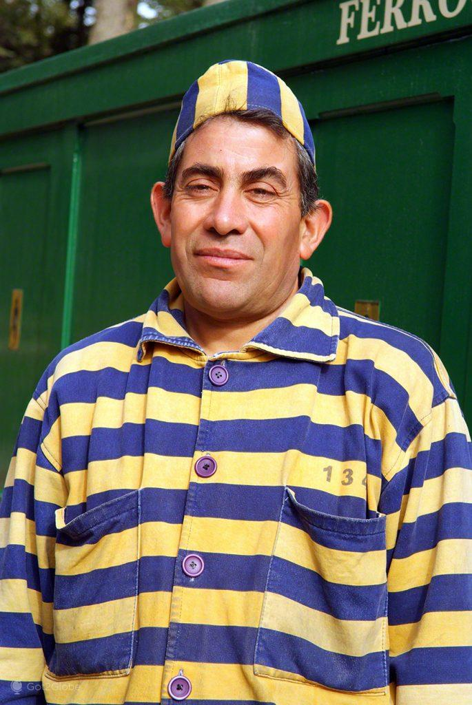 Pipo, figurante do Tren del Fin del Mundo, Ushuaia, Argentina
