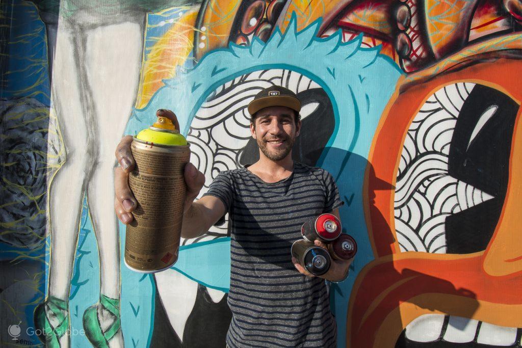 Davel grafiter nativo de Miami, Wynwood, Estados Unidos da América
