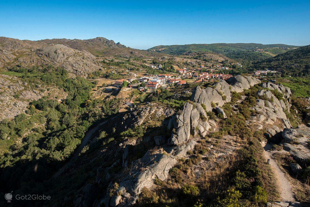 Casario de Castro de Laboreiro, Minho, Portugal