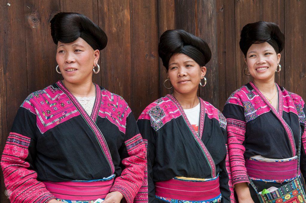 Mulheres de Huang Luo, China