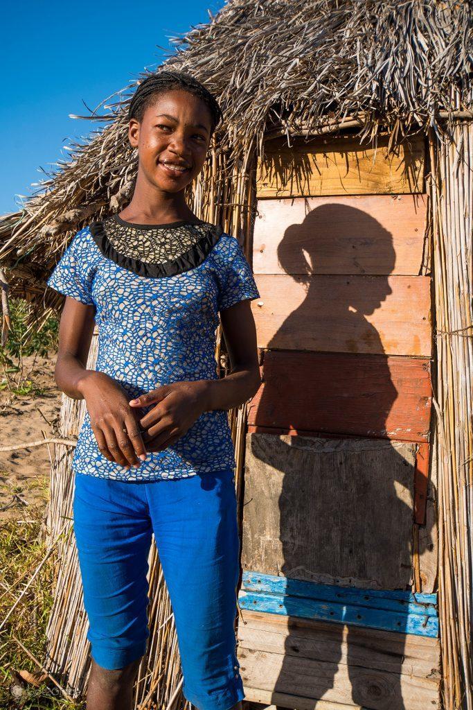 Rapariga de Bazaruto, Moçambique