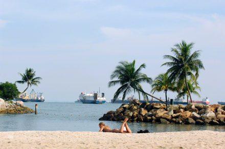 Praia portuária