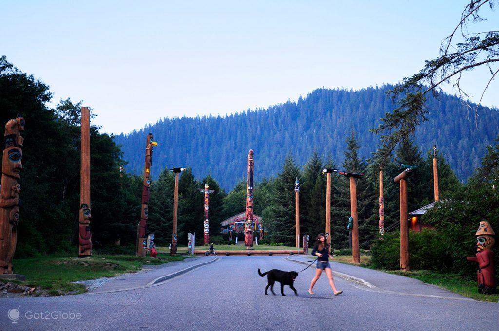 Parque de Totems, Ketchikan, Alasca, EUA