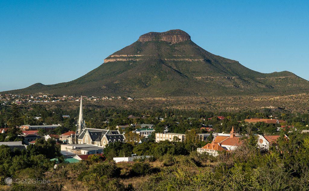 O casario de Graaf-Reinet, Karoo, África do Sul