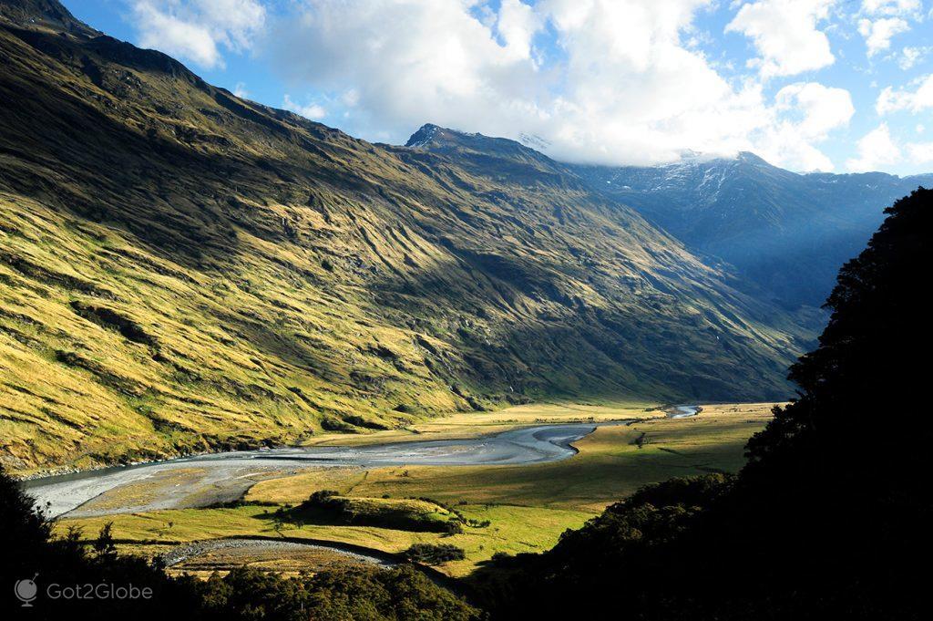 Rio Matukituki, Nova Zelândia