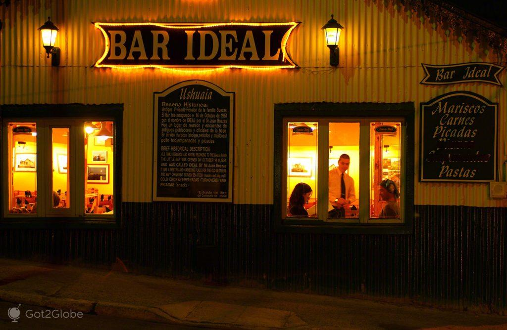 Bar Ideal, em Ushuaia, Argentina