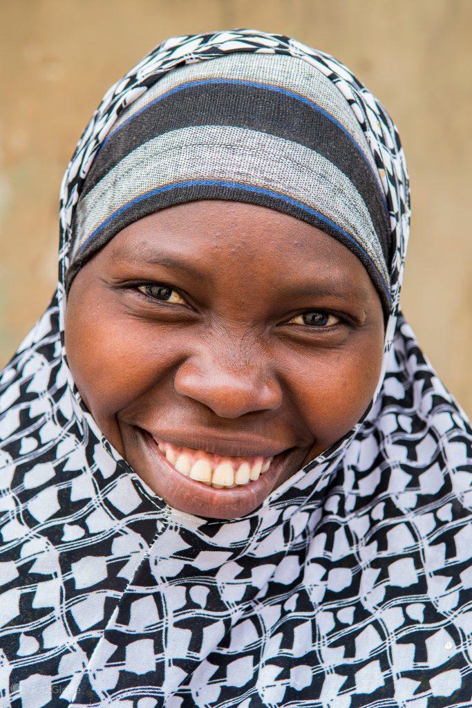 Moradora da ilha Ibo, Quirimbas, Moçambique