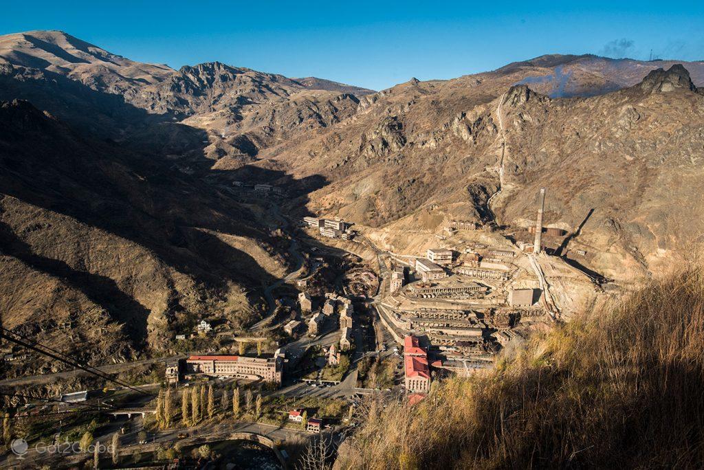 Vale industrial de Sanahin, Arménia