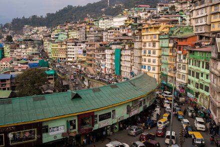 Casario de Gangtok, Sikkim, Índia