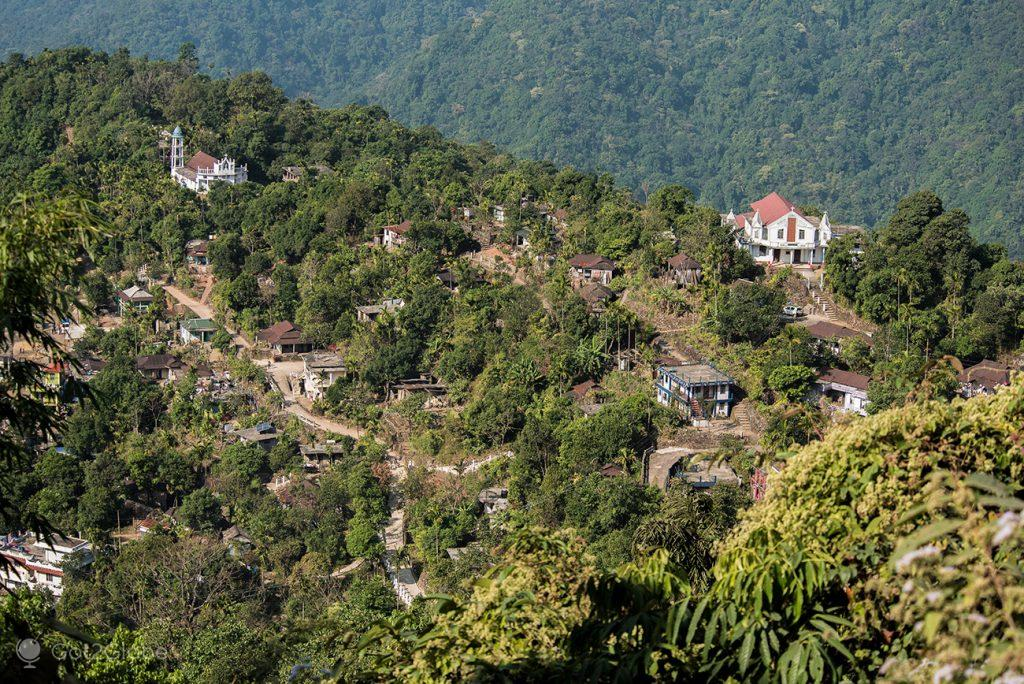 Aldeia de Tyrna, Meghalaya, Índia