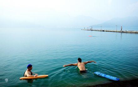 Manhã cedo no Lago