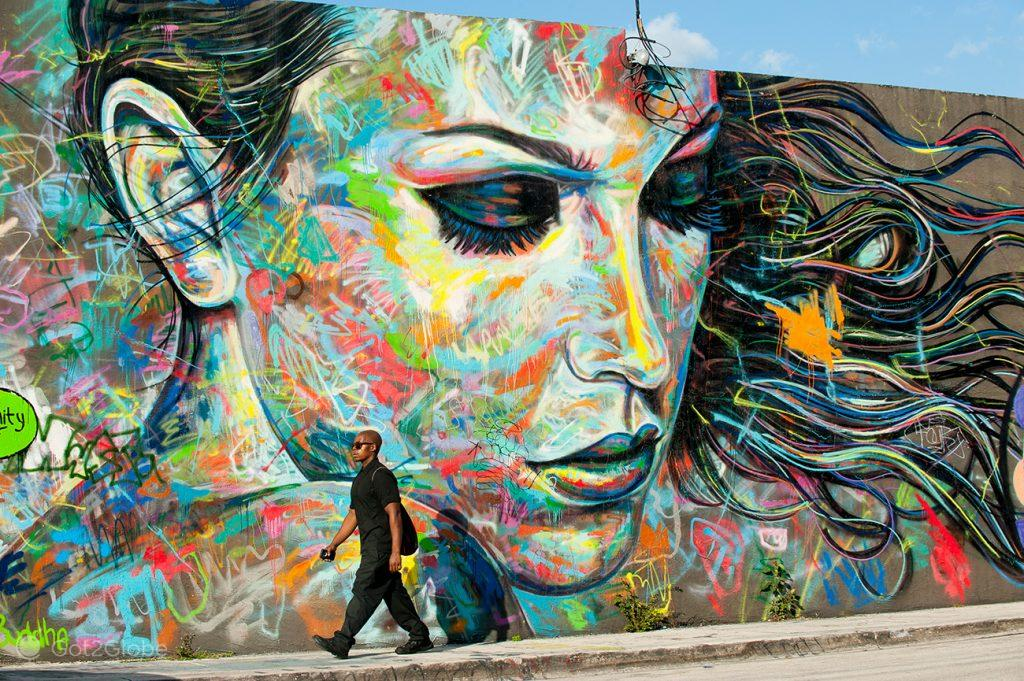 Mural de Wynwood, Miami, Estados Unidos da América