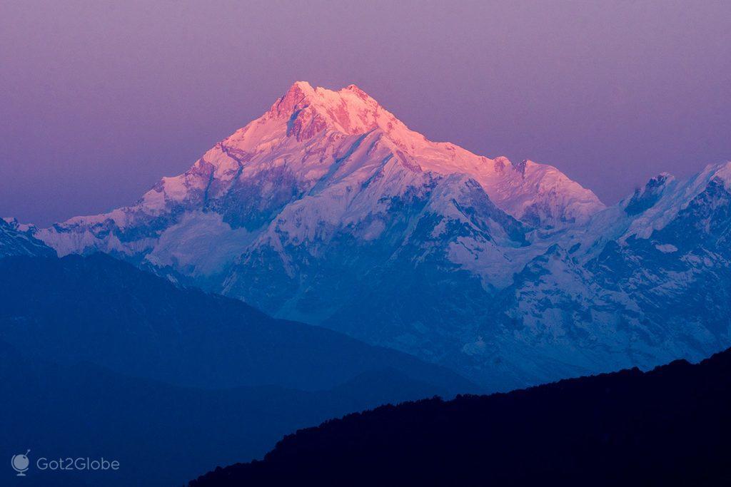 Montanha Kanchenjunga, Himalaias
