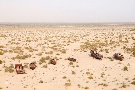 Barcos em seco
