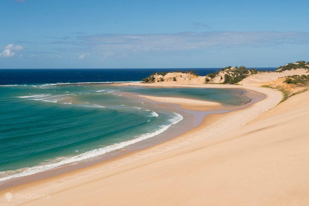 Sailfish bay, ilha de Bazaruto, Moçambique