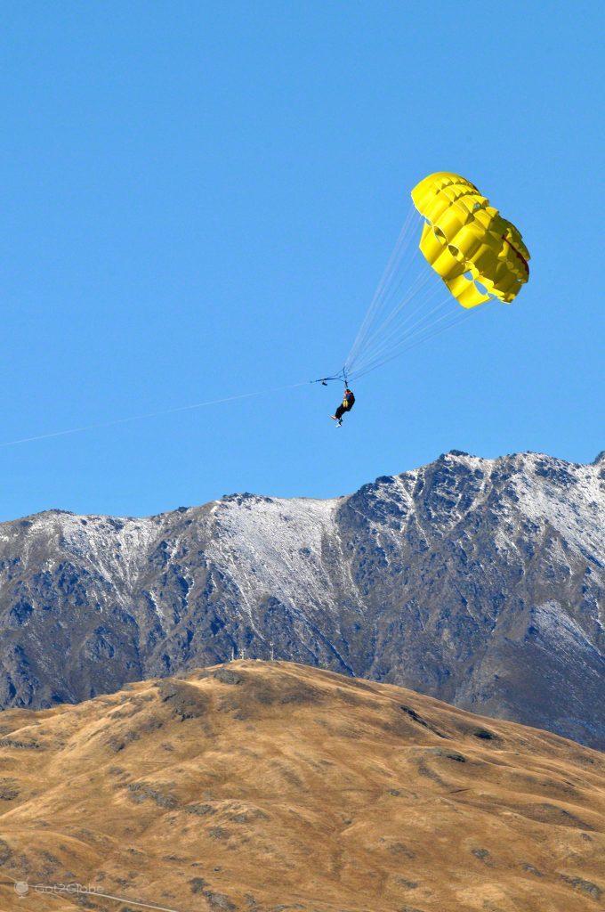 Paragliding, Queenstown, Nova Zelândia