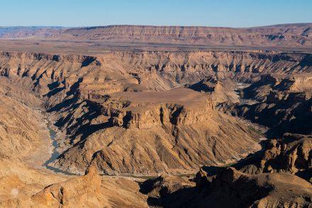 Hell's Bend do Fish River Canyon, Namíbia