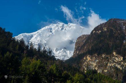 Monte Lamjung Kailas Himal, Nepal