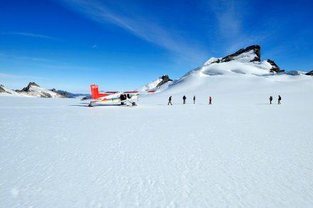 Aterragem sobre o gelo
