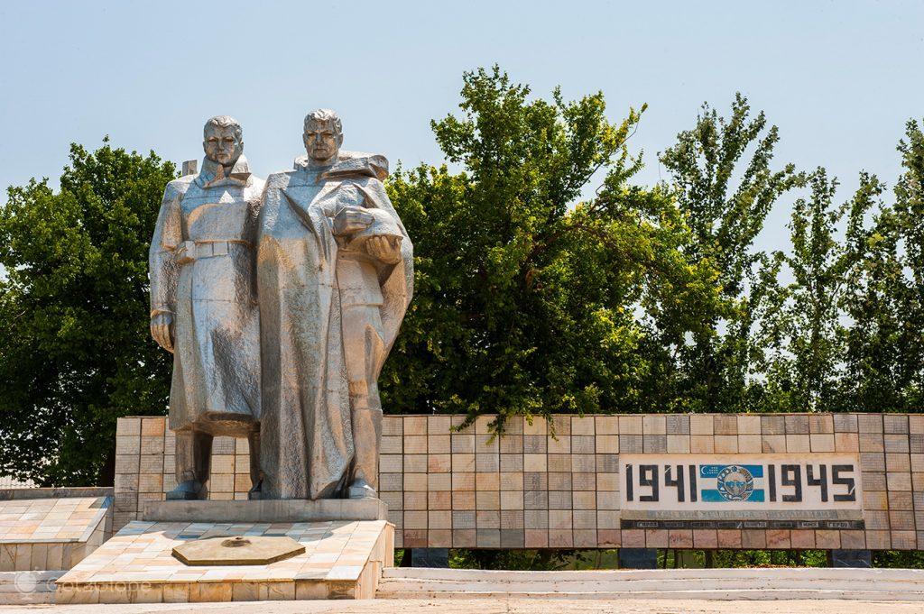 Monumento à participação soviética na 2ª Guerra Mundial, Nurata