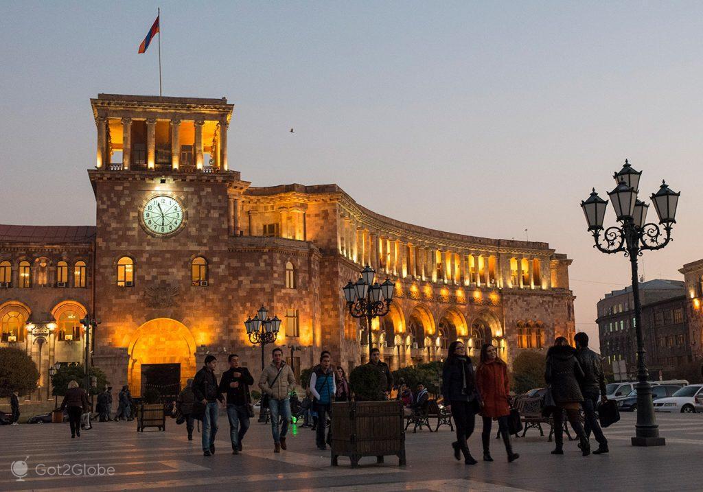 Praça da República, Erevan, Arménia