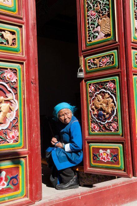 Moradora de Dali, Yunnan, China