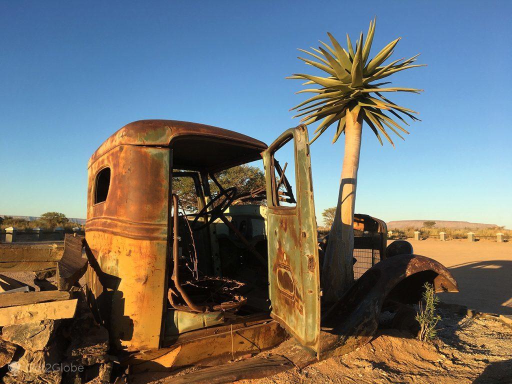 Decoração da Canyon Roadhouse, Namíbia