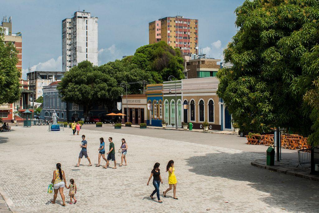 Praça de São Sebastião, Manaus, Brazil