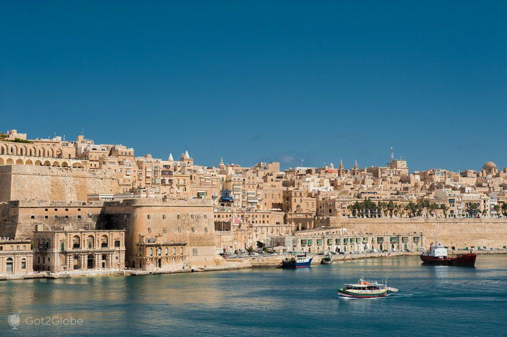 Grand Harbour de Valletta, Malta