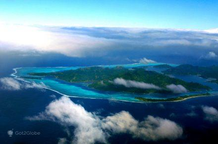 Vista aérea de Moorea