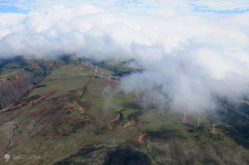 Vista aérea de Maui, Havai