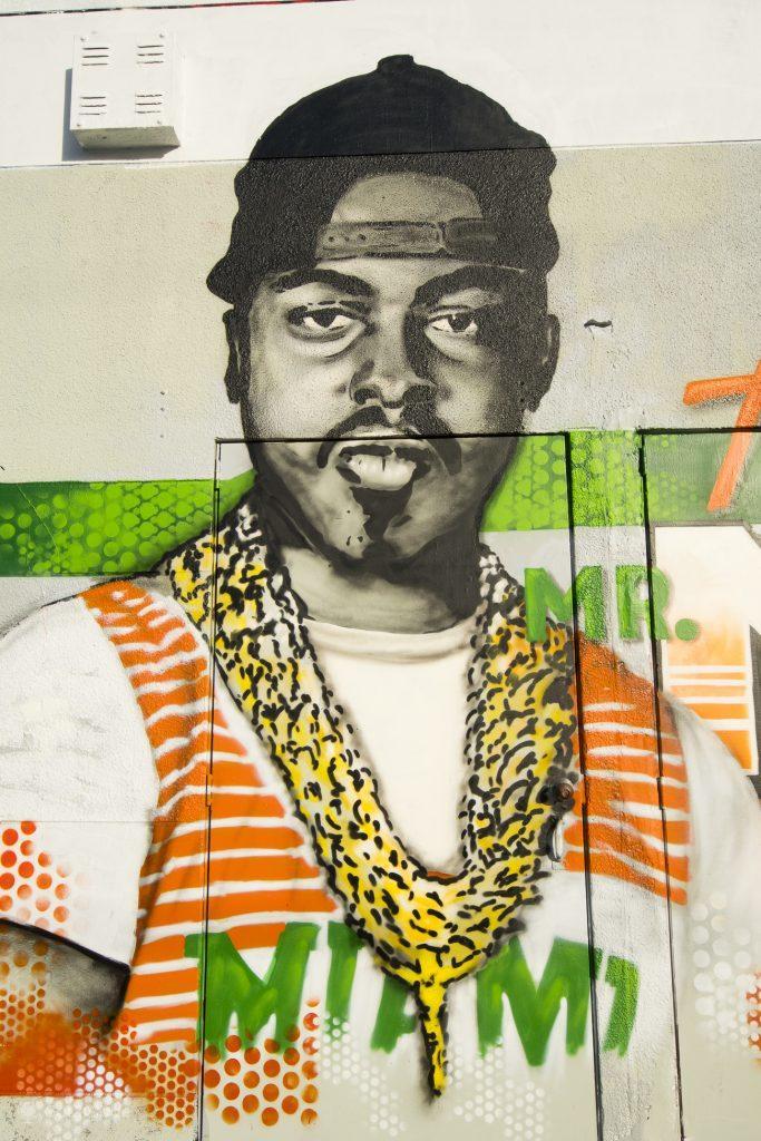 The Mr., grafitti de Wynwood, em Miami