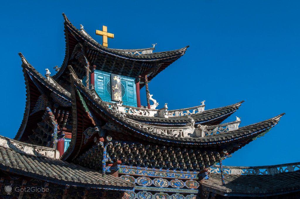 Igreja católica de Dali, Yunnan, China