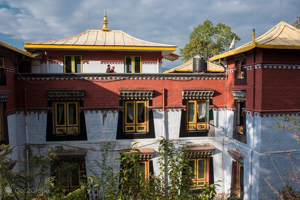 Edifício do Namgyal Institute of Tibetology, Gangtok, Sikkim, Índia