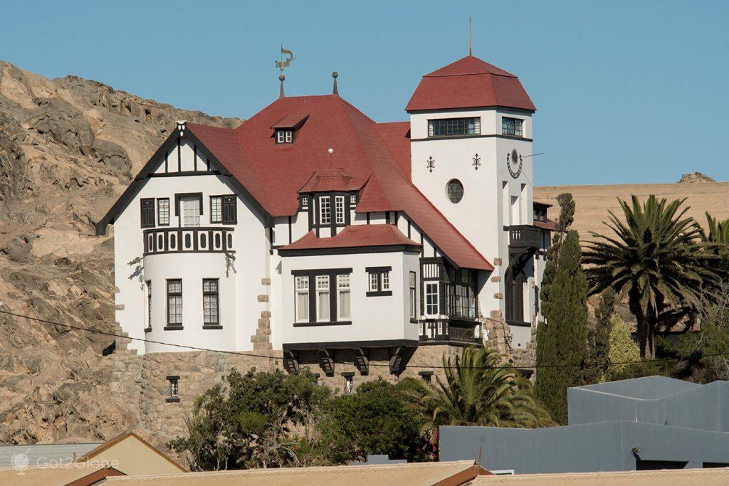 Casa Goerke, Luderitz, Namibia