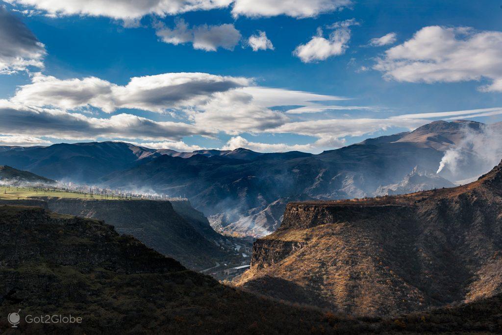 Garganta do rio Debed, Arménia