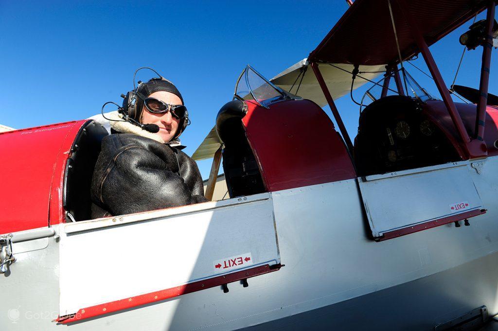 Piloto de aviões clássicos, Wanaka, Nova Zelândia
