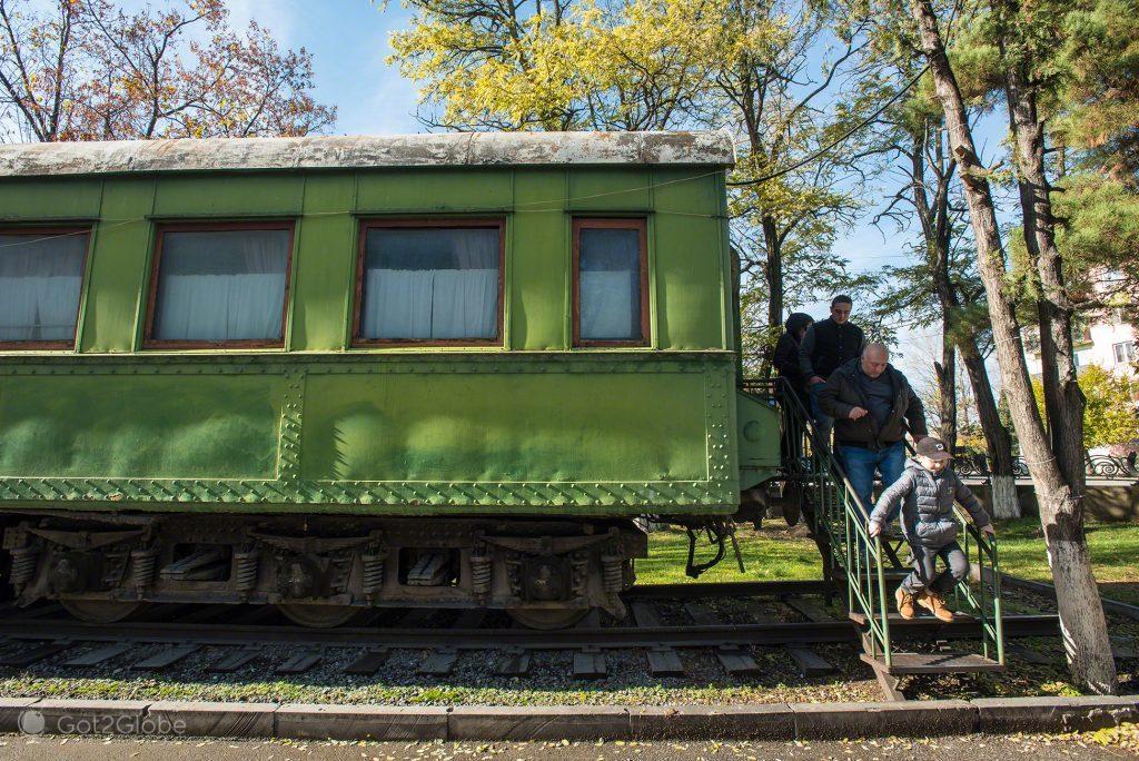 Carruagem de Estaline, Museu Ferroviário de Estaline, Gori, Georgia