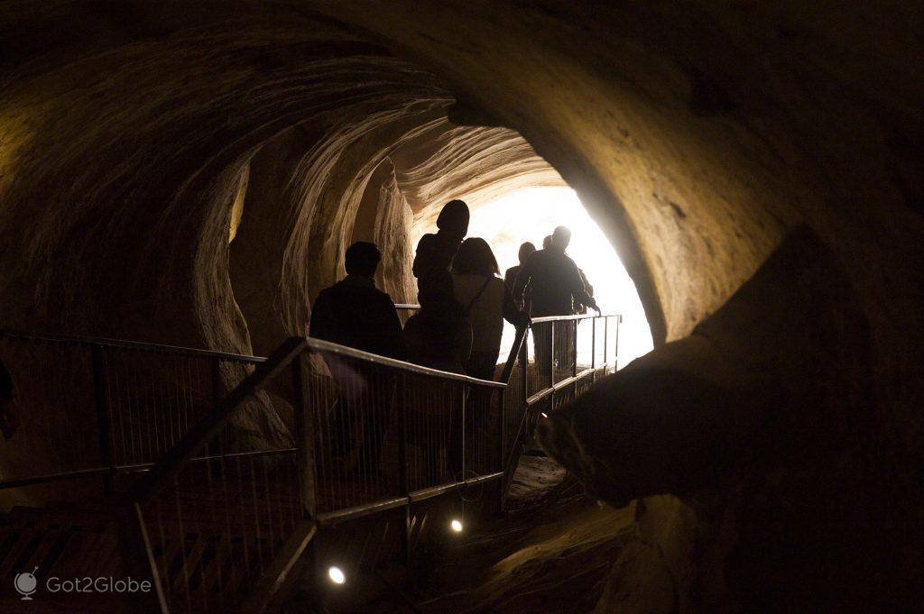 Túnel de Uplistsikhe, Georgia