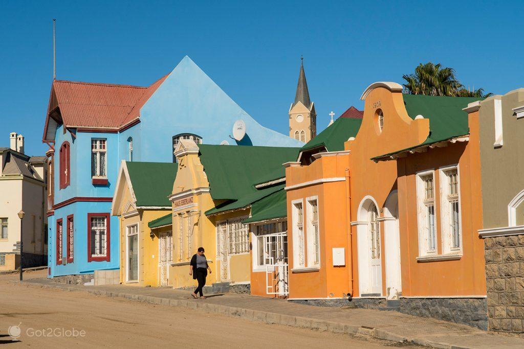 Berg Street, Luderitz, Namibia