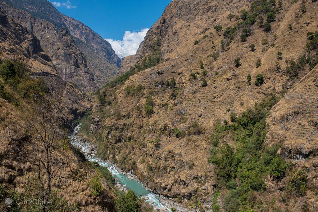 Rio Marsyangdi, Nepal