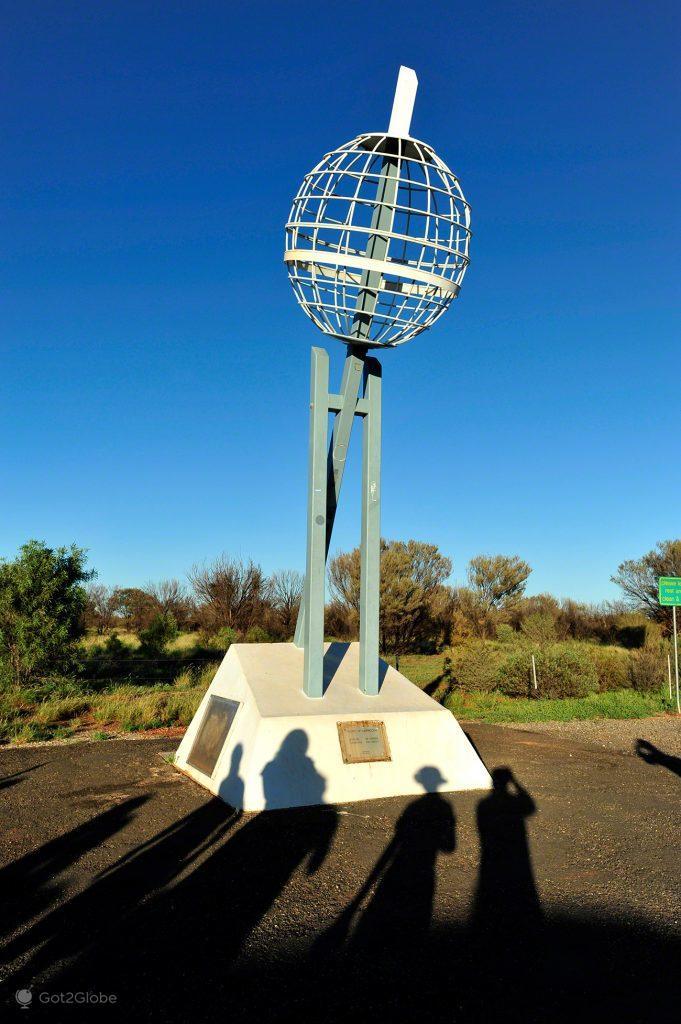 Trópico Capricórnio, Alice Springs a Darwin, Stuart hwy, Caminho do Top End