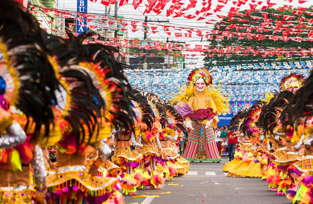 Coreografia do Festival MassKara, Bacolod, Negros, Filipinas