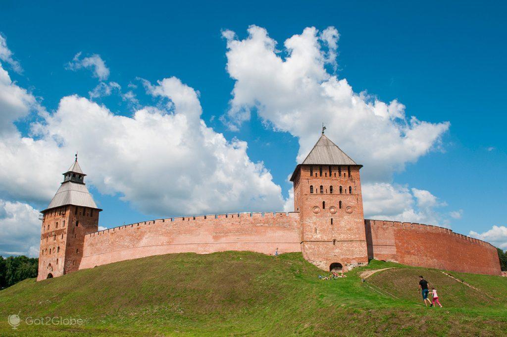 Fortaleza circular de Novgorod, Rússia