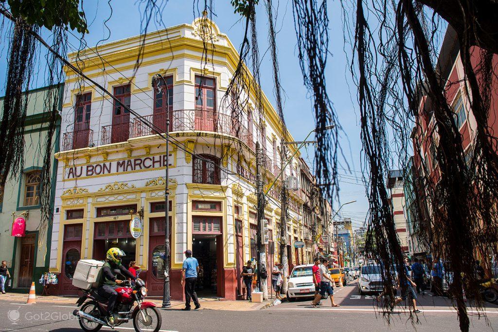 Antiga loja Au Bon Marché, Manaus, Brasil