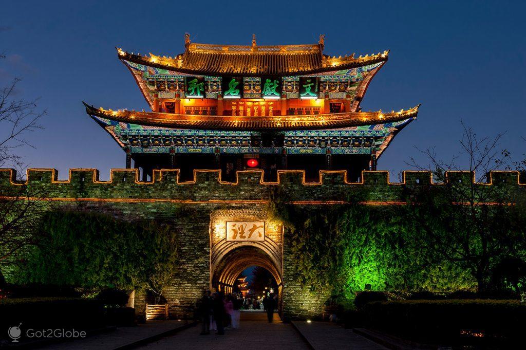 Forte de Dali, Yunnan, China