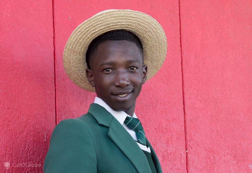 Aluno de Graaf-Reinet, África do Sul