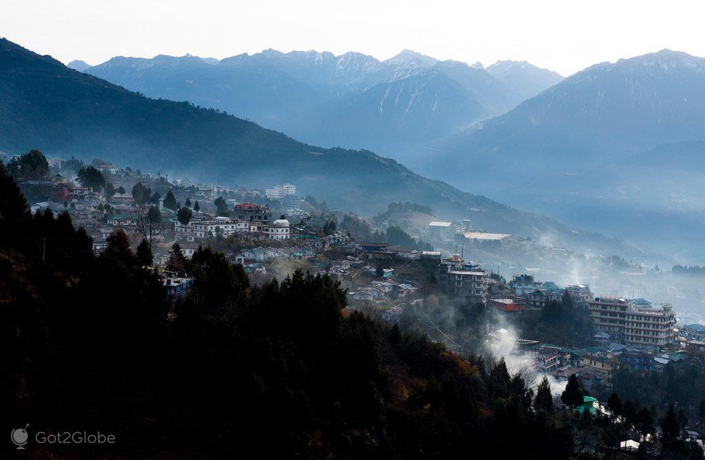 Tawang, na província de Arunachal Pradesh, Índia