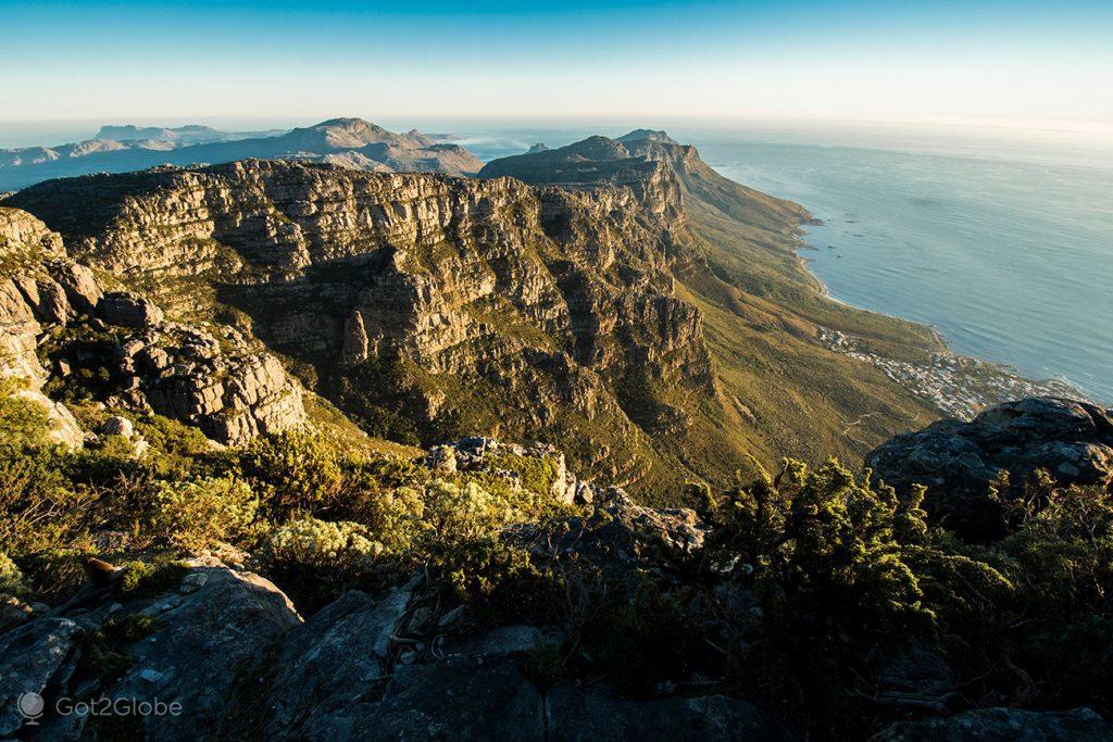 12 Apóstolos da Montanha da Mesa, Cidade do Cabo, África do Sul