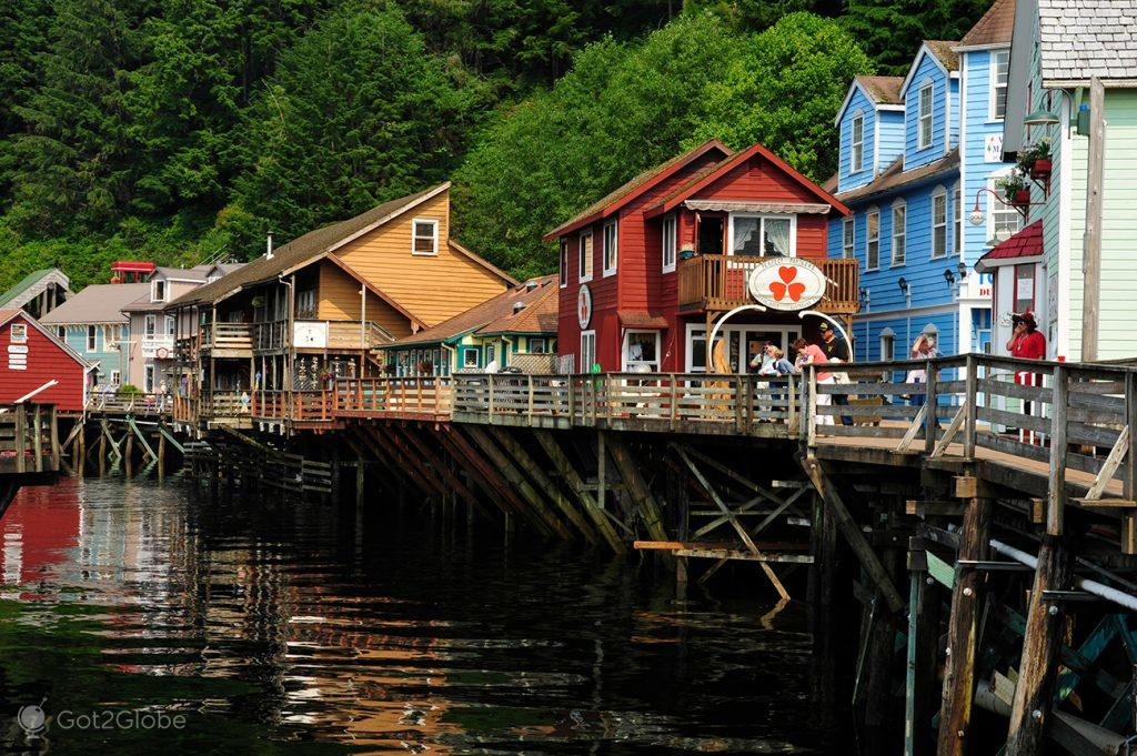 Creek St., Ketchikan, Alasca, EUA